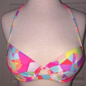 Geometric bikini top